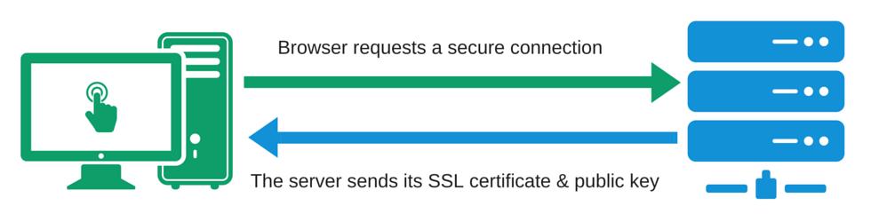 �יך תעודת SSL עובדת?